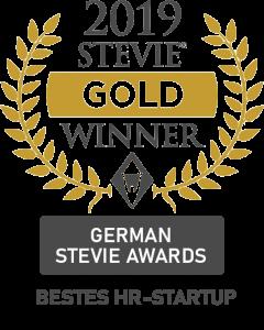 Stevie Award 2019 Bestes Startup