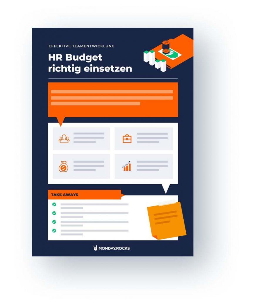 Infografik HR Budget richtig einsetzen